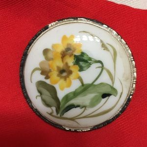 Jewelry - Vintage Rosenthal porcelain brooch